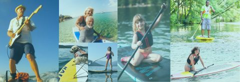 Standup paddle boarding (SUP), Calgary, Cochrane, Ghost Lake